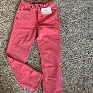 brand new Alexander Wang high rise ankle jeans